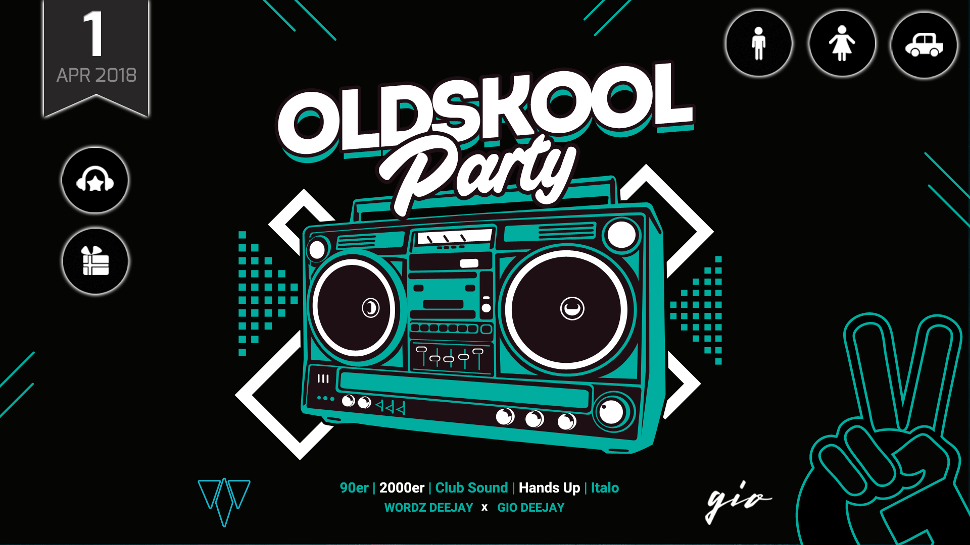 OLDSKOOL PARTY | 90er, 2000er, Club Sound, Hands Up & Italo