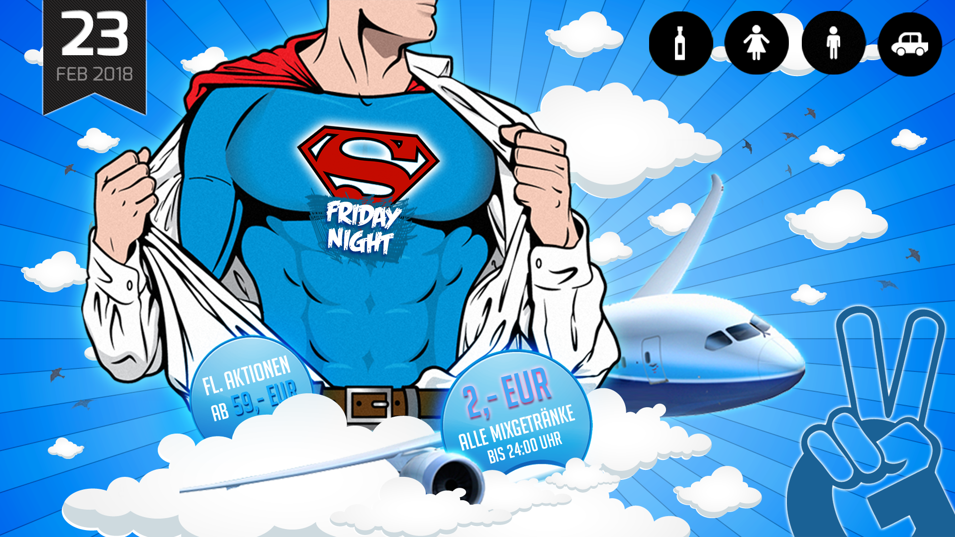 EURO PARTY | Super Friday Night