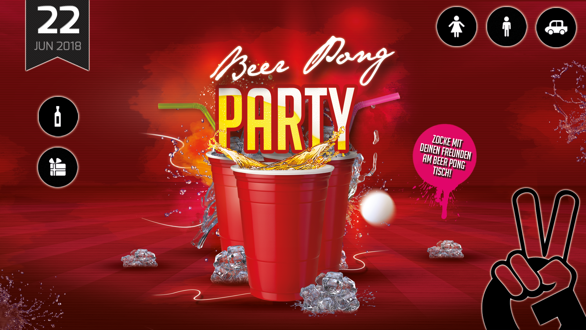BEER PONG PARTY | Red Cup Edition