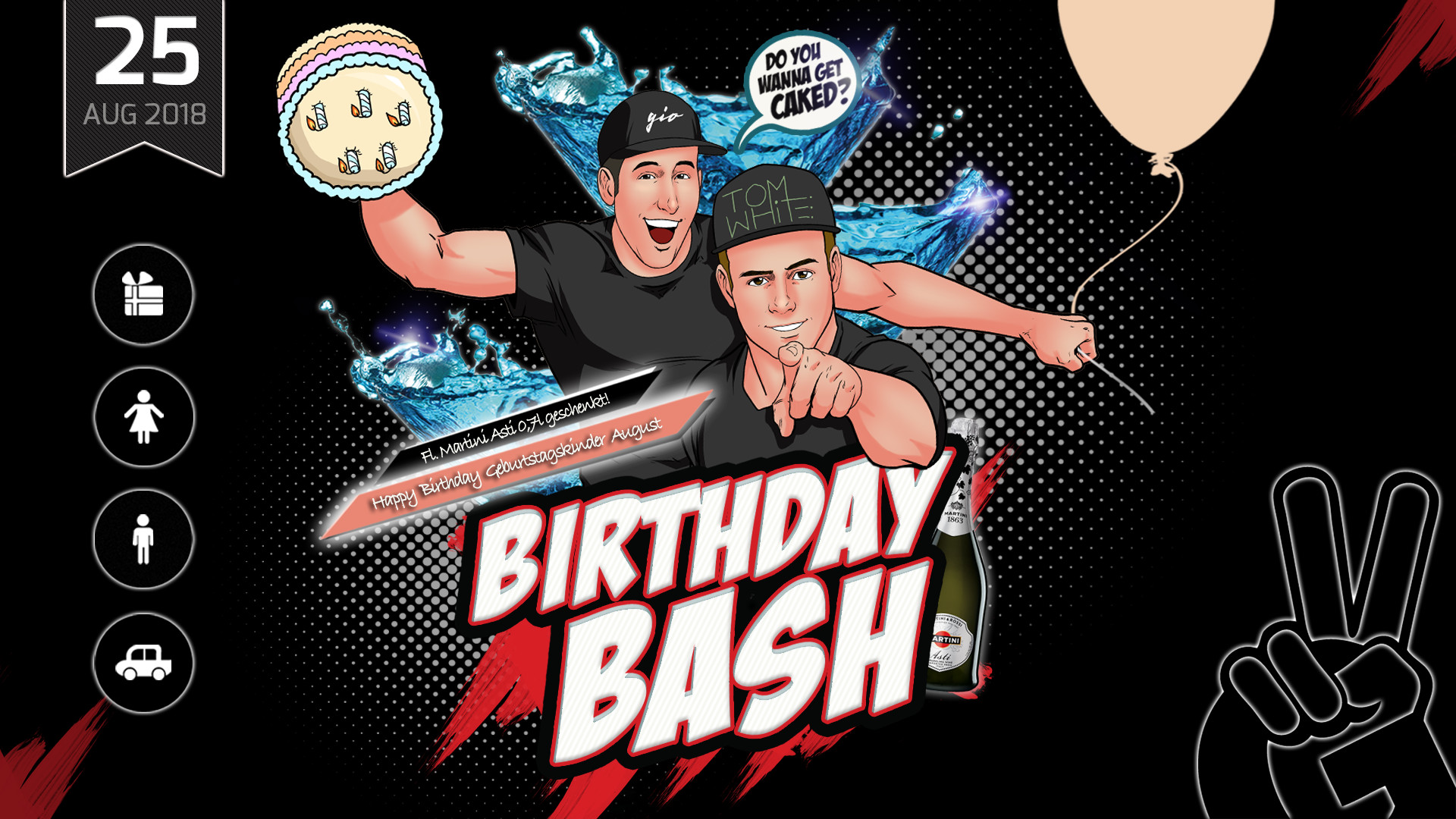 BIRTHDAY BASH | Geburtstagskinder August