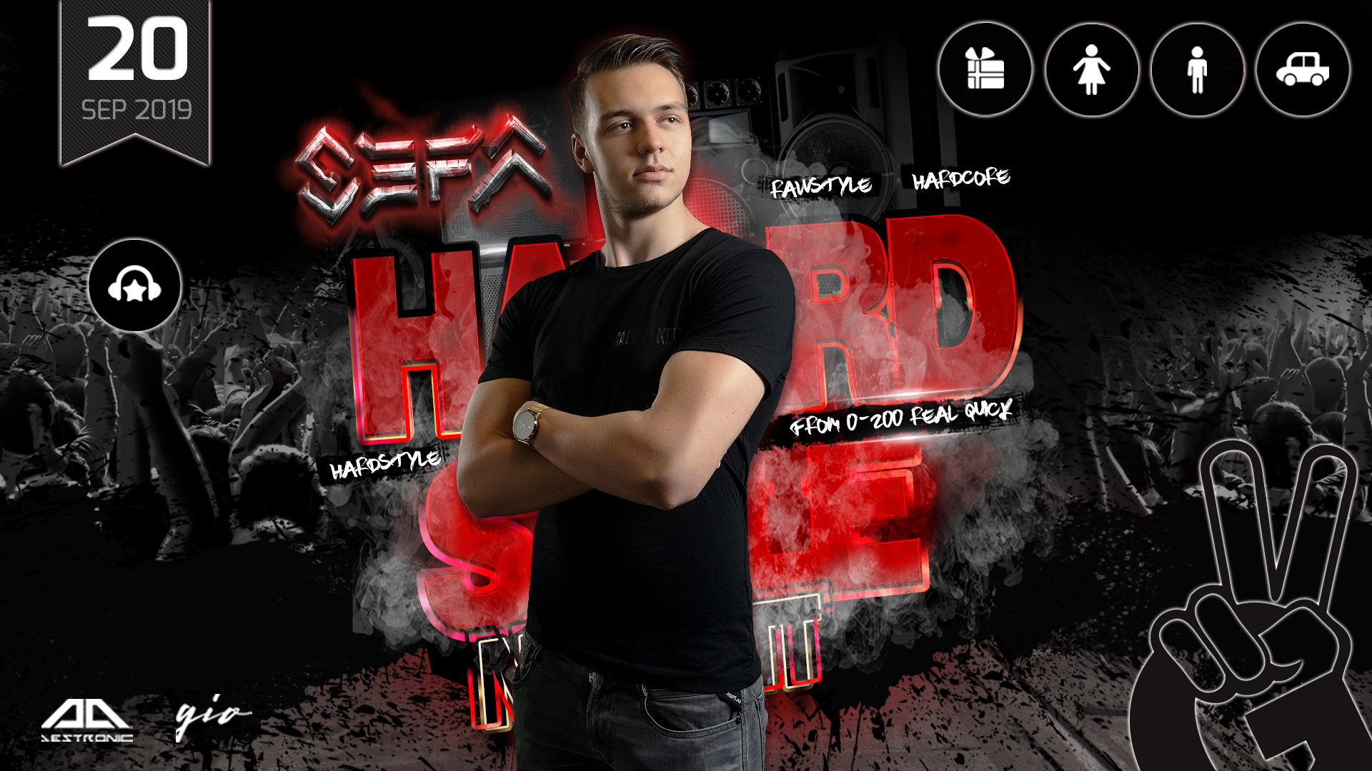 G2 Club Diskothek pres. SEFA | Int. Hardcore & Frenchcore Act