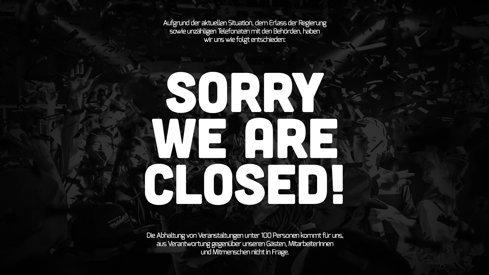 SORRY WE ARE CLOSED | Back Soon